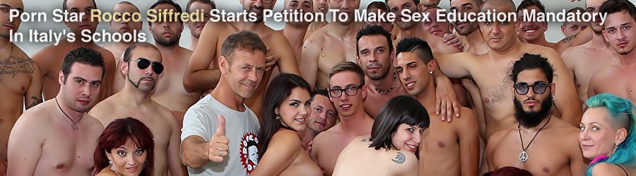 Porn Star Rocco Siffredi Starts Petition To Make Sex Education Mandatory In Italy's Schools
