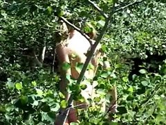 Andi Naked In The Woods