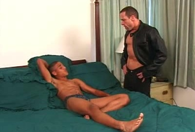 JR Gay Interracial Cock Stuffing