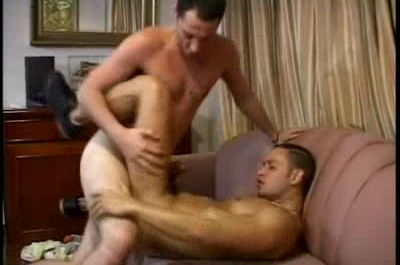 Handsome Latino Takes a Pounding