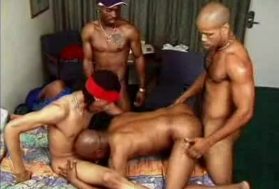 Dante Gay Interracial Mouth Fucking