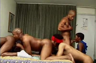 Dante Gay Interracial Blowbang