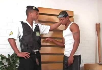 Black Thug Tastes His Buddy's Dick