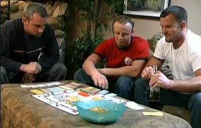 Buffed Gay Cubs Threesome
