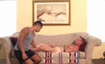 Twink Latino Sucking Off a Cock