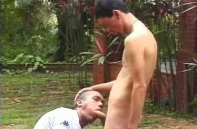 Horny Latino Sucking Off a Dick