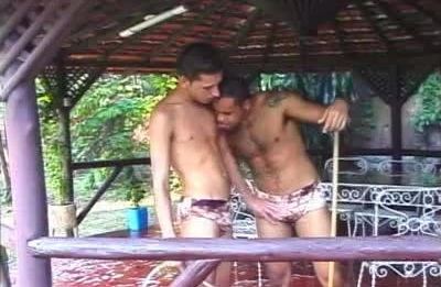 Fabio and Armando Outdoor Sex
