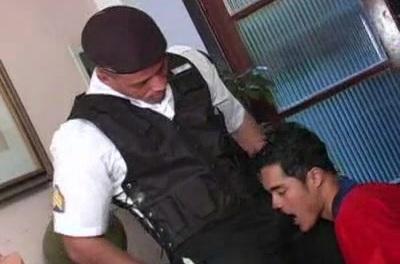 Cute Latin Men Having Anal Sex