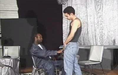 Black Dude Interracial Blowjob