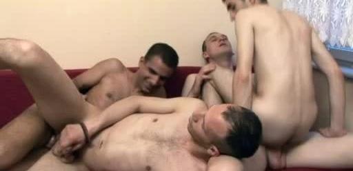 Steamy Gay Gangbang
