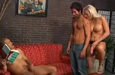 Busty Bi Pornstar Teases Her Strap-On