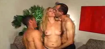 Hot MILF Bisexual Threesome