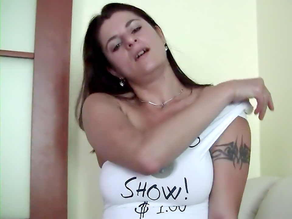 Maike Loves To Show Her Big TitsAnd Dripping Slit
