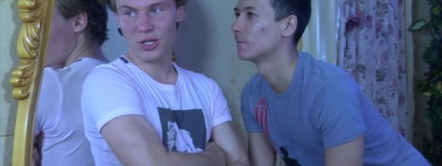 Benny B and Arnold A naughty gay/straight video