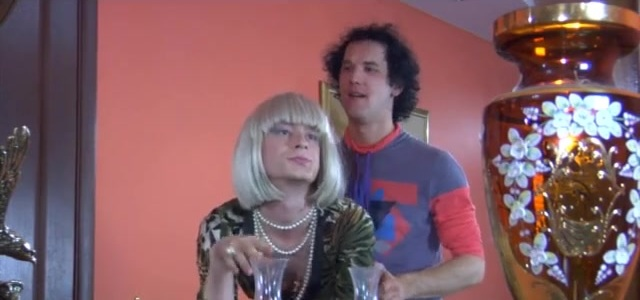 Herman A and Eddie femaleclothed sissy on video