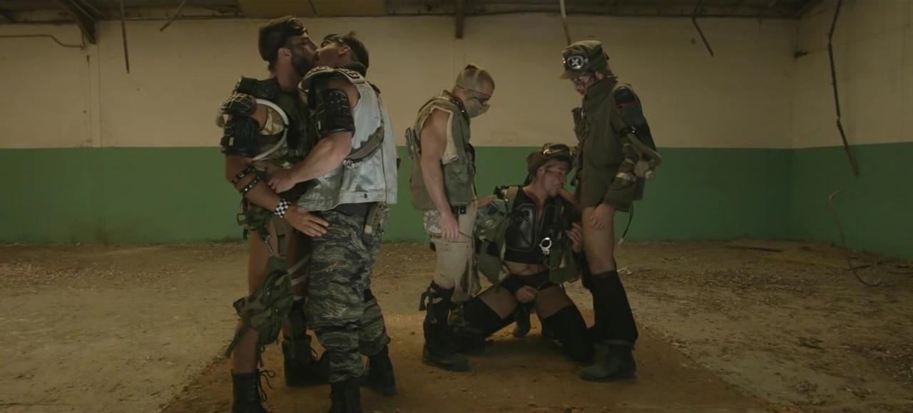 Apocalypse Part 4 - TRAILER - Paddy O'Brian, Damien Crosse, Hector De Silva, dario Beck and Jay Roberts - JO - Jizz Orgy