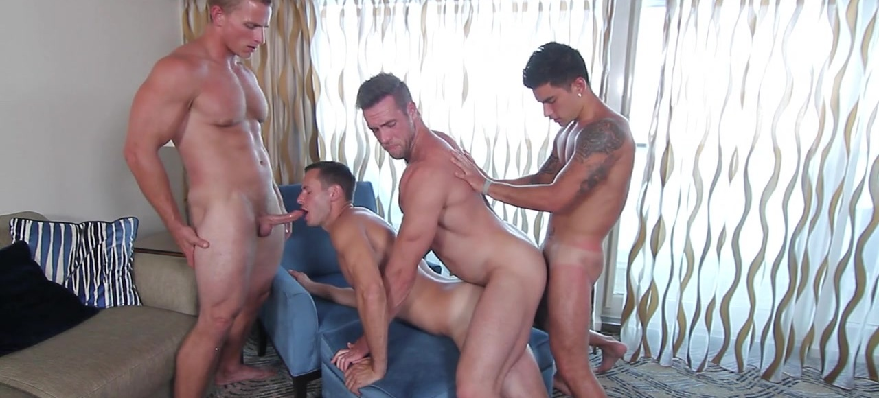 MEN At Sea Part 7 - TRAILER- Brenner Bolton, Alex Mecum, Landon Mycles and Vadim Black - JO - Jizz Orgy