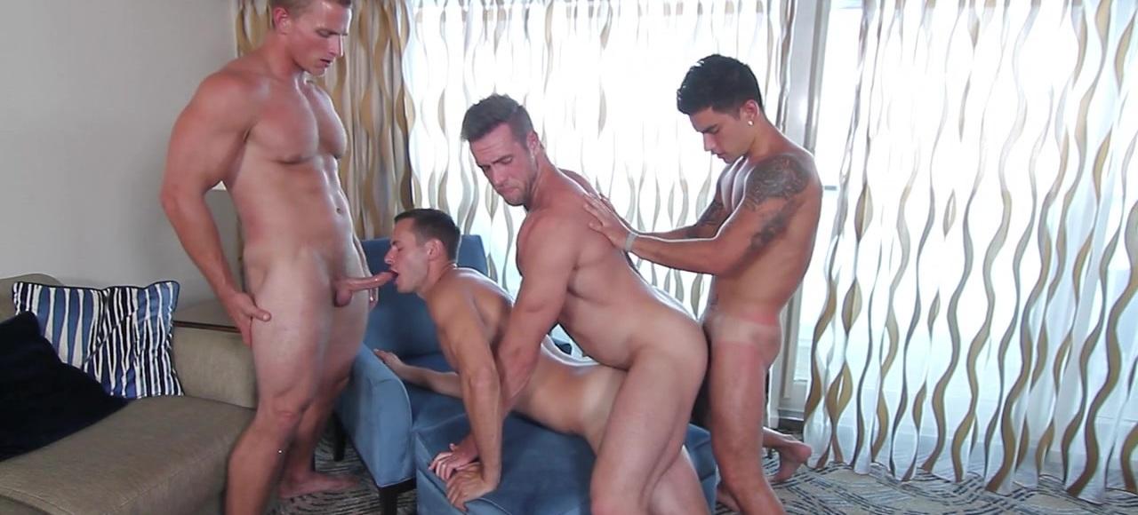 MEN At Sea Part 7 - TRAILER- Brenner Bolton, Alex Mecum, Landon Mycles and Vadim Black - JO - Jizz Orgy