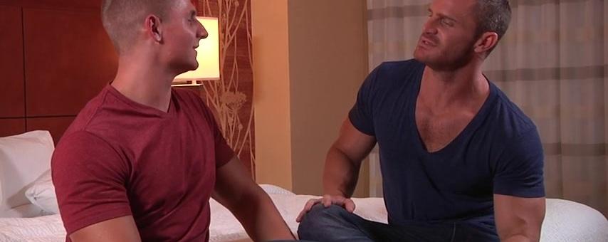 Not Divorced Yet - STG - Str8 to Gay - Landon Conrad & Logan Vaughn