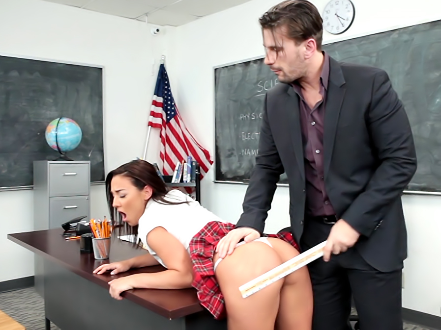 Bad girls get punished!