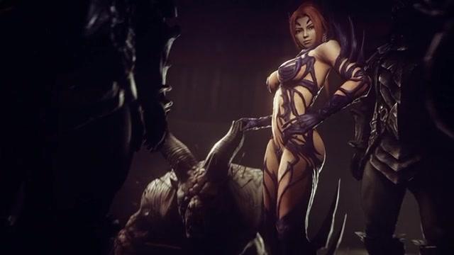 3D порно - Kunoichi