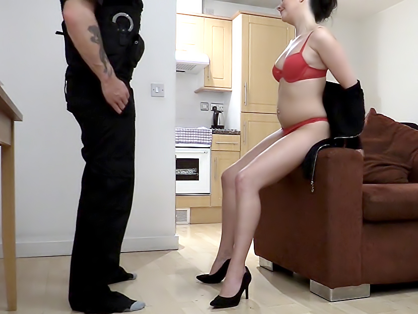 Office Slut Fucked by Policeman