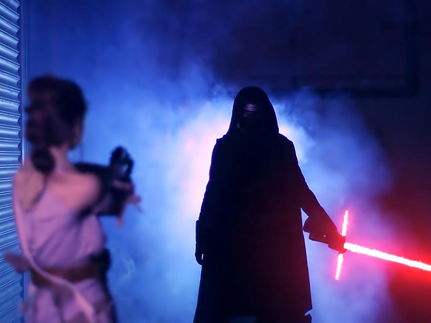Force Awakens A XXX Parody
