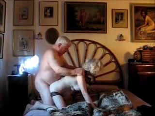 old couple  maduros