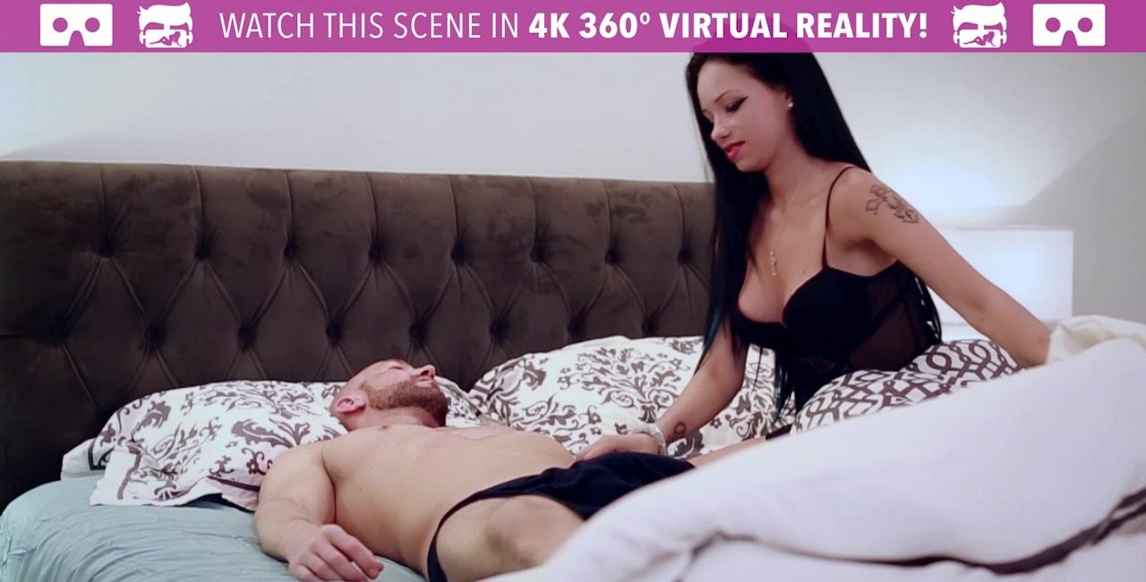 Blindfold man sex