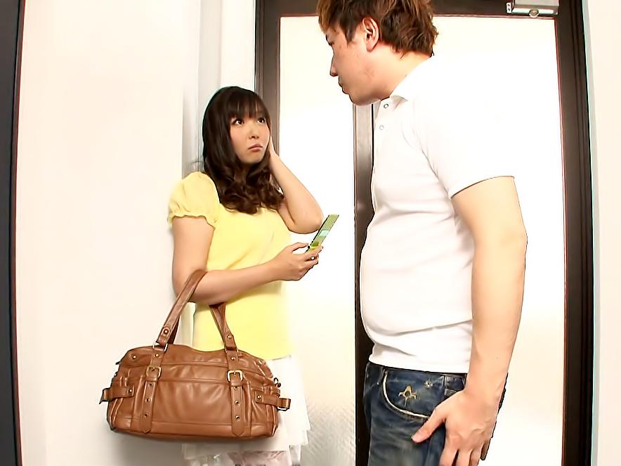 Sweet girl next door, Haruka Osawa fucked her virgin neighbor