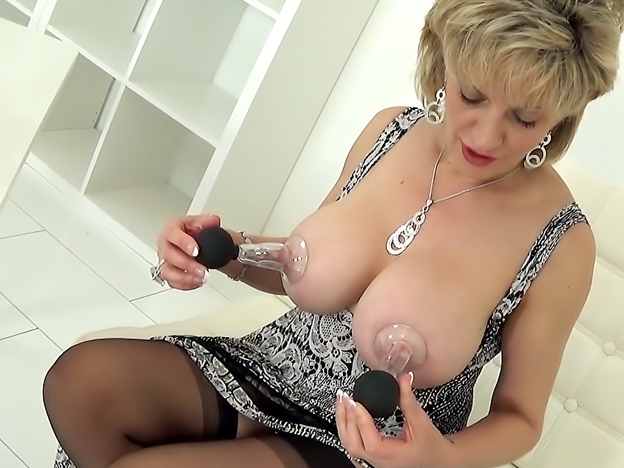 Milf nipple suction wife