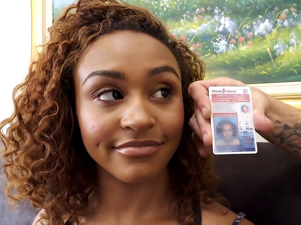 Adorable Black Teen Nami Dahlia Seduced By Older Man