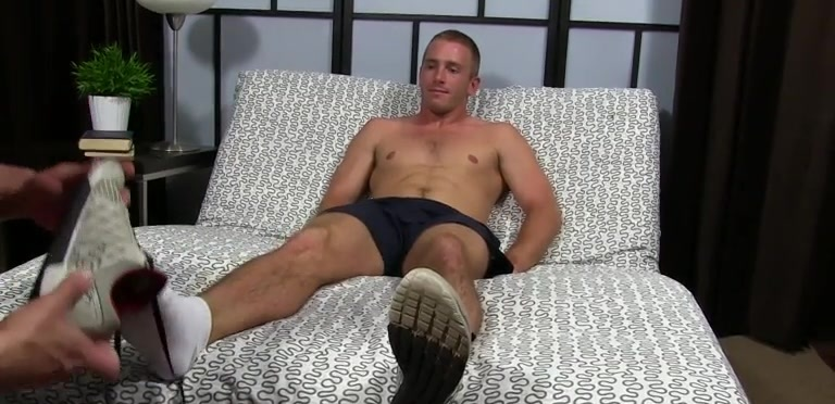 Daxton Worships Scott's Socks and Feet - Scott