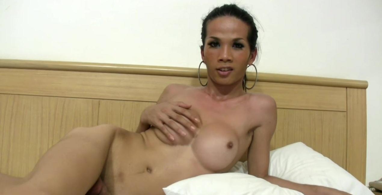 Beautiful ladyboy fucks her t-girlfriends exposed anal hole