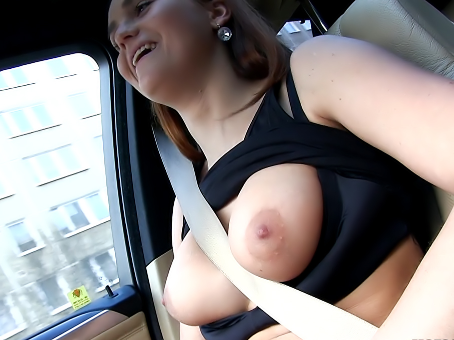 Busty Perv Flashes her Boobs