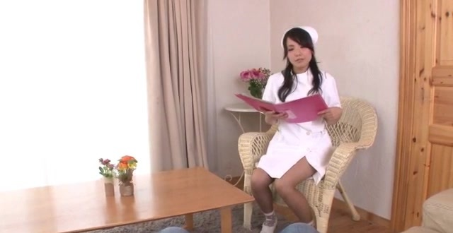 Miho Tsujii amazes with full Asian nurse POV oral