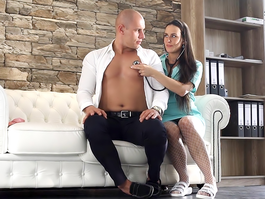 NAUGHTY NURSE. Porn video