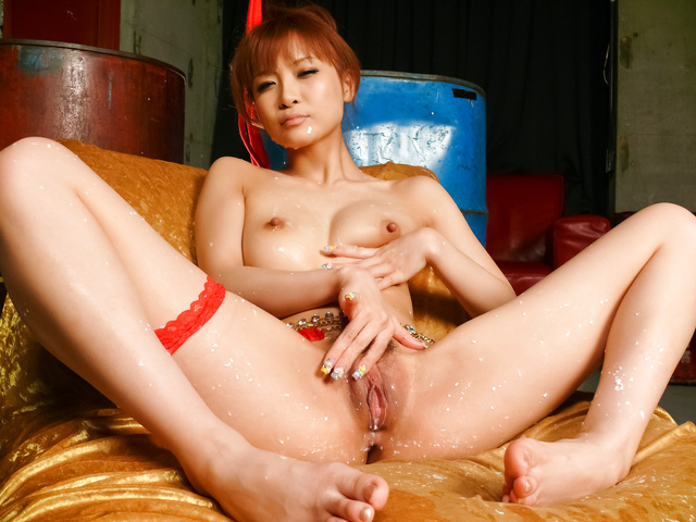 Misa Kikouden enjoys having her pussy and ass ravished
