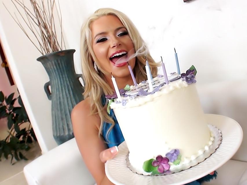 Anikka's Surprise Birthday Double Penetration