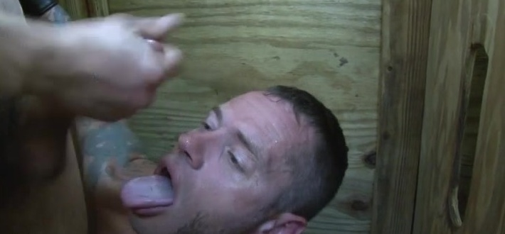Damon sucking two guys