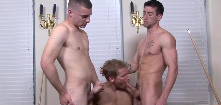 Alex Adams with Aiden Allan and Casey More