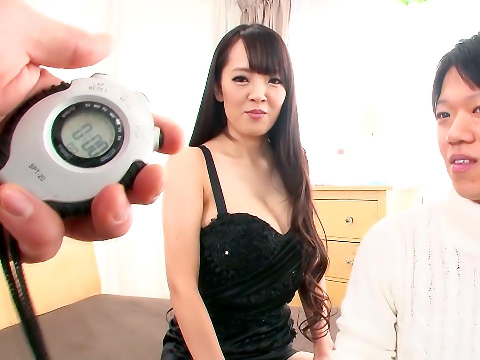 Hitomi Fulfills A Fans Fantasy