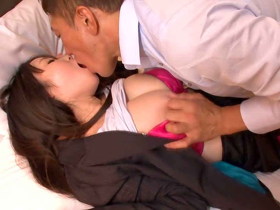 Aika Needs Her Bosses Huge Cock