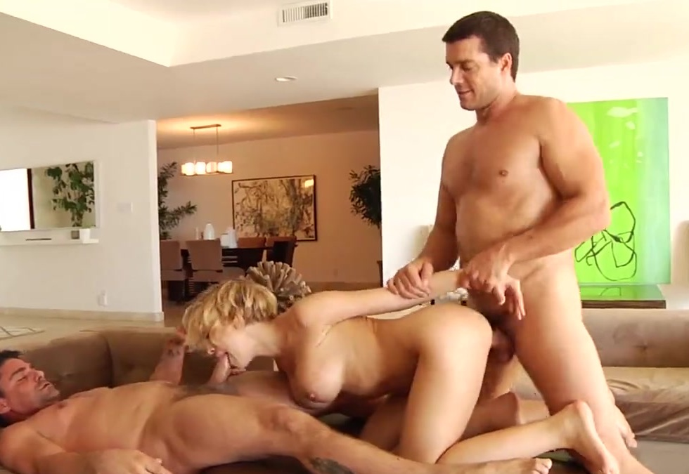 Kagney Lynn Karter gets rough double penetration