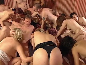 extreme german groupsex orgy