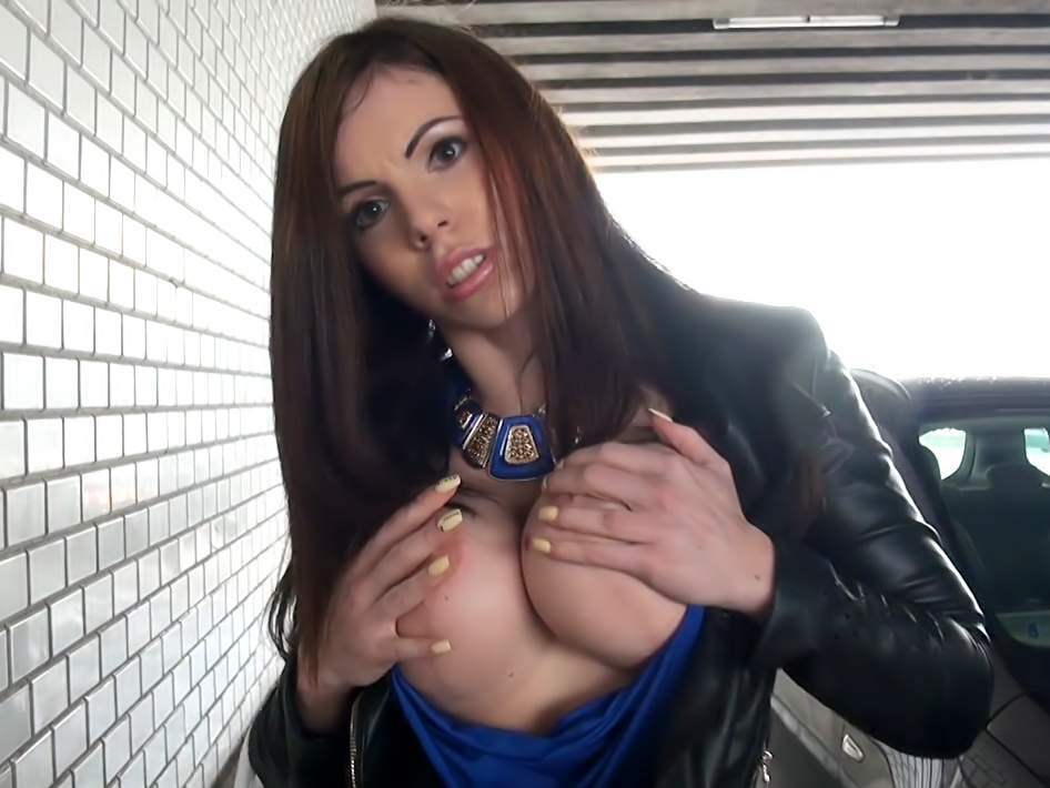 Titty-Fucking Hungarian Babe