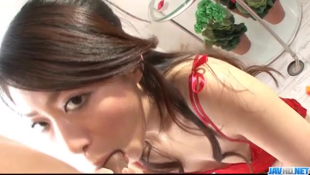 Hina Aisawa, cock sucking babe, goes wild on cam