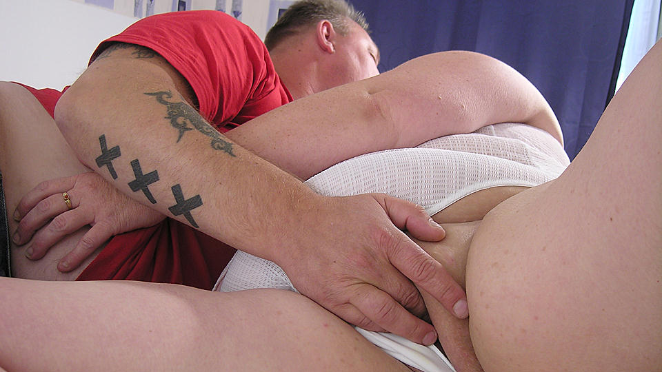 This chunky mature slut loves her big boyfriend