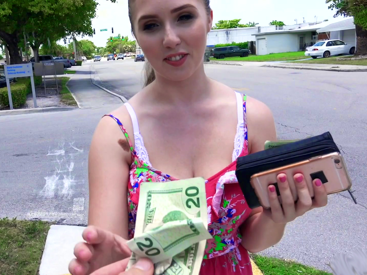 Payed for blow job free vid