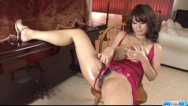 Airi Ai amazing solo masturbation with toys
